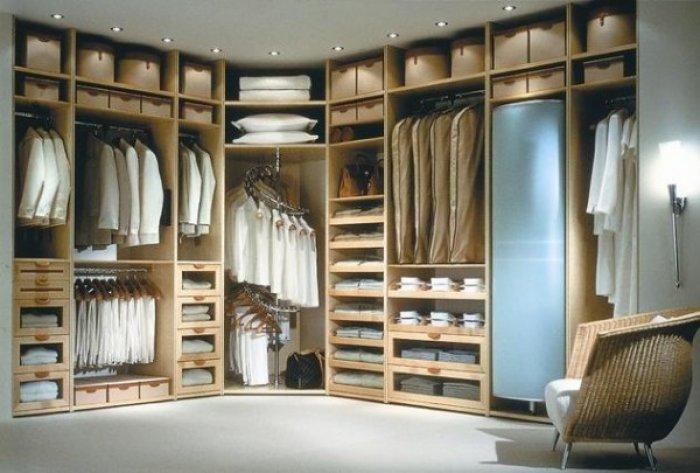 Birbirinden Farklı Giyinme Odası Tasarımları-11