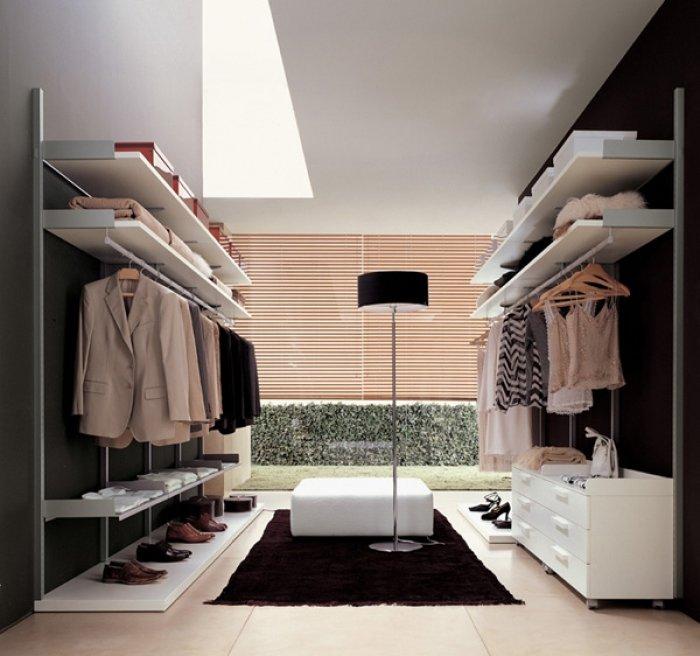 Birbirinden Farklı Giyinme Odası Tasarımları-14