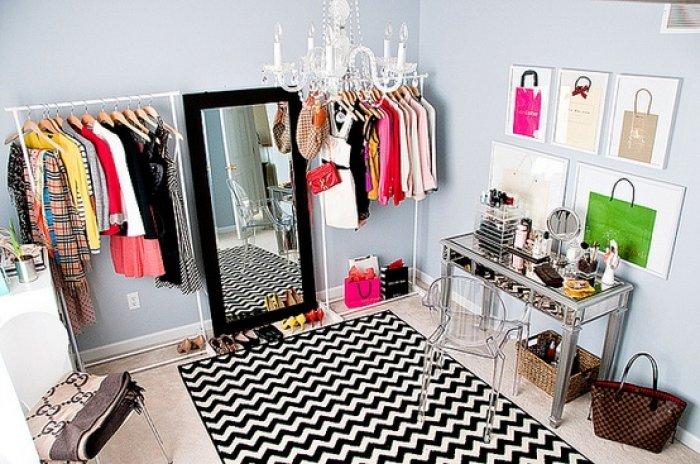 Birbirinden Farklı Giyinme Odası Tasarımları-17