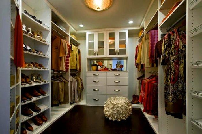 Birbirinden Farklı Giyinme Odası Tasarımları-18