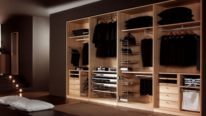 Birbirinden Farklı Giyinme Odası Tasarımları-6