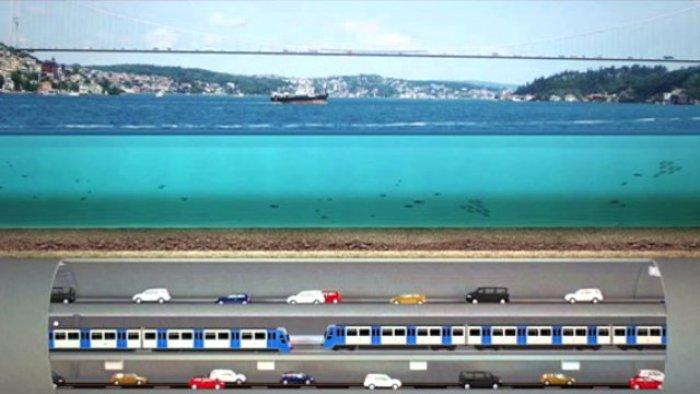3 Katlı İstanbul Tüneli nasıl olacak? -13