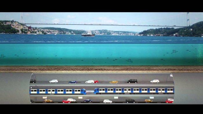 3 Katlı İstanbul Tüneli nasıl olacak? -14