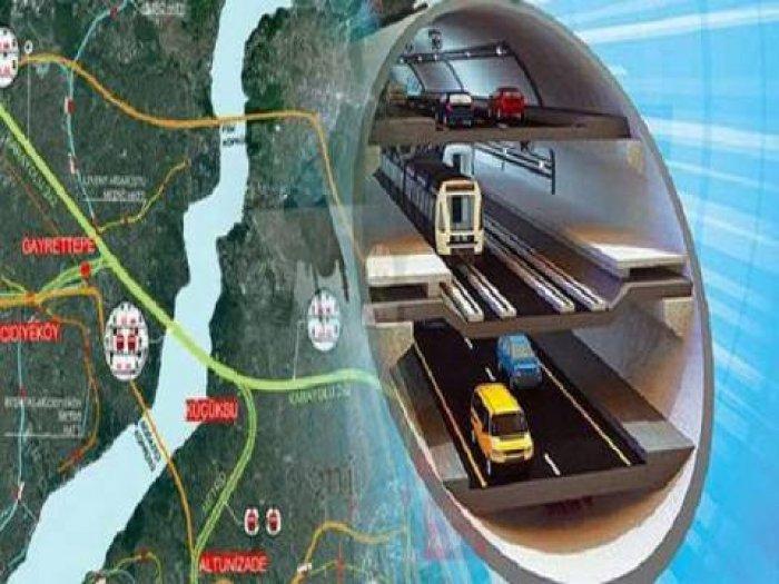 3 Katlı İstanbul Tüneli nasıl olacak? -15