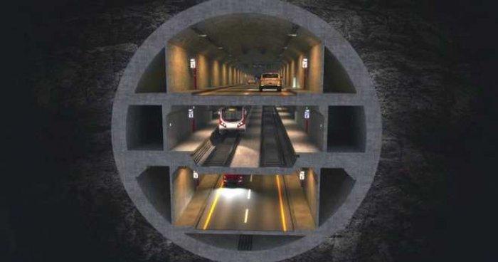 3 Katlı İstanbul Tüneli nasıl olacak? -3