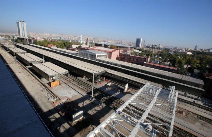 Ankara Yüksek Hızlı Tren Garı -7