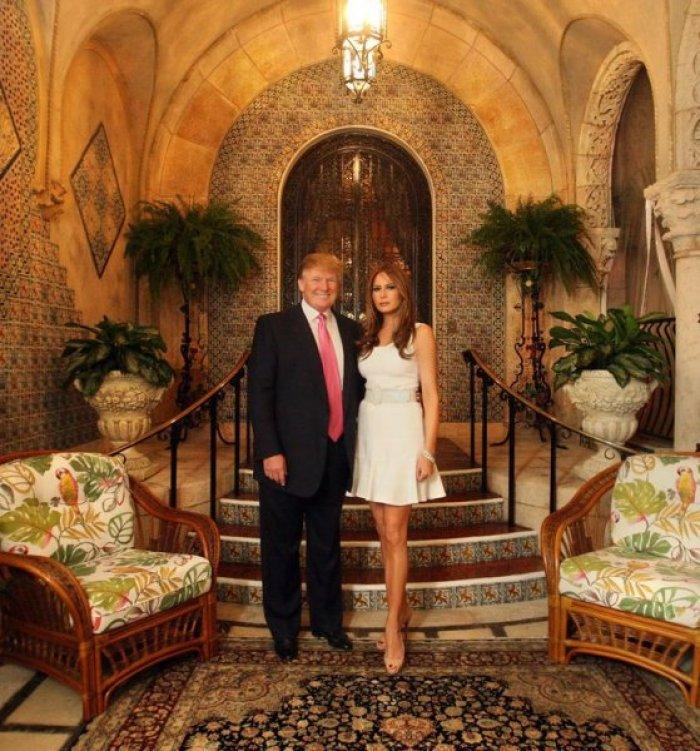 ABD'nin yeni başkanı Donald Trump'ın altın kaplama evi -1