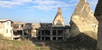 Bakan Kurum'dan Kapadokya inşaatları açıklaması