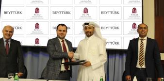Beyttürk İnşaat'a Katarlı ortak
