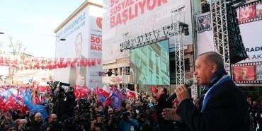 Cumhurbaşkanı Erdoğan duyurdu: '50 bin sosyal konut'