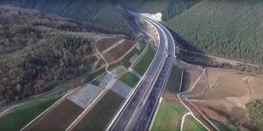 İki köprüyü birleştiren otoyol hizmete açıldı