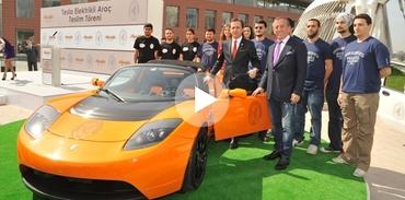 Ağaoğlu'nun elektrikli arabası İTÜ'nün