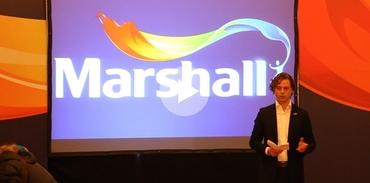 Marshall küresel marka yolunda