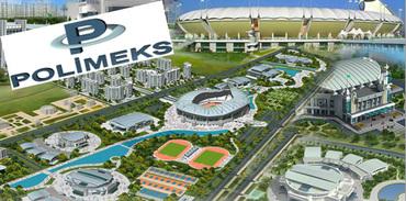 Polimeks'ten Türkmenistan'a Olimpiyat Kenti