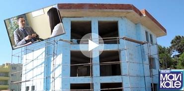 Türkiye'nin ilk pasif evi Mavi Kale'den