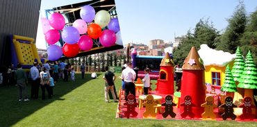 Batışehir'de çocuklar eğlenceye doyacak