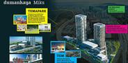 Dumankaya Miks'te ticari alanlar satışa çıkıyor