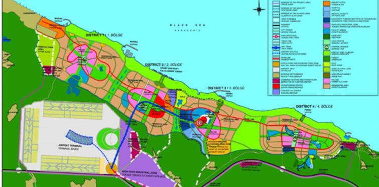 İstanbul'a yapılacak 3. Havaalanı'nın ayrıntıları