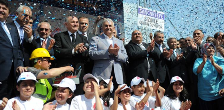 Üsküdar – Sancaktepe Metrosu'nun temeli atıldı