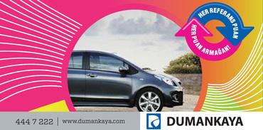 Dumankaya'da referans olan araba kazanıyor