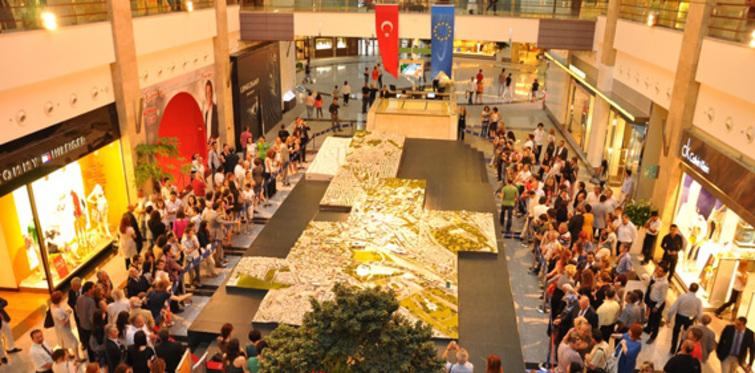 """Ankara'nın dev """"kent maketi"""" ziyarete açıldı"""