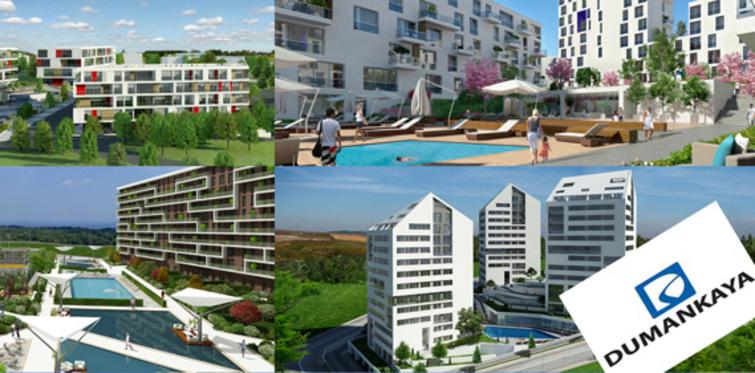 Dumankaya'dan Tuzla'ya 7 konut projesi
