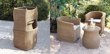 Koçtaş'tan modüler bahçe mobilyaları
