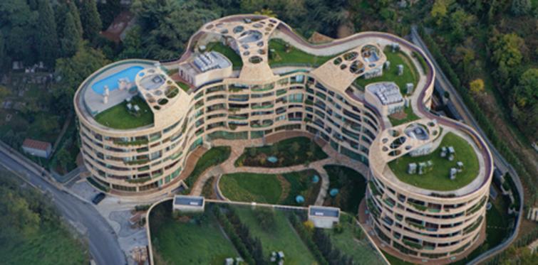 """One Ortaköy'e """"2012 Green Good Design"""""""