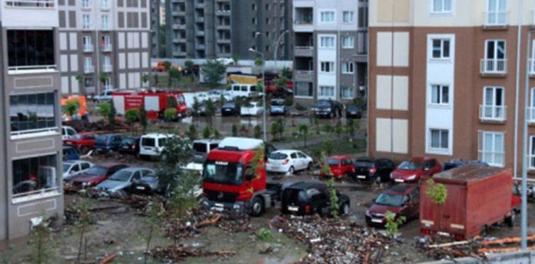 Samsun'da sel felaketi: 9 ölü