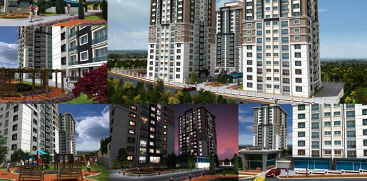 Aris Park Rezidans'ta 195 bine rezidans