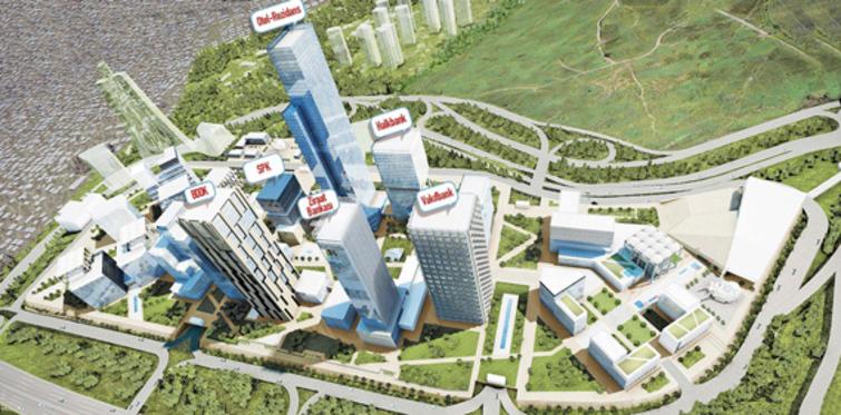 Finans Merkezi 3 yılda tamamlanacak