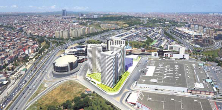 Bayrampaşa'ya Özak'tan karma proje