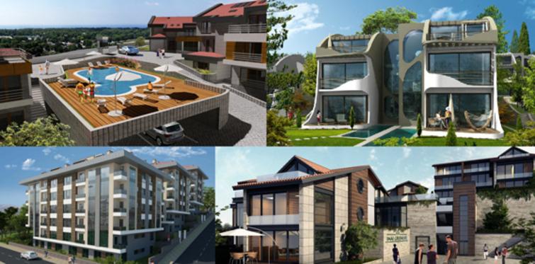 Sarıyer'e villa projeleri