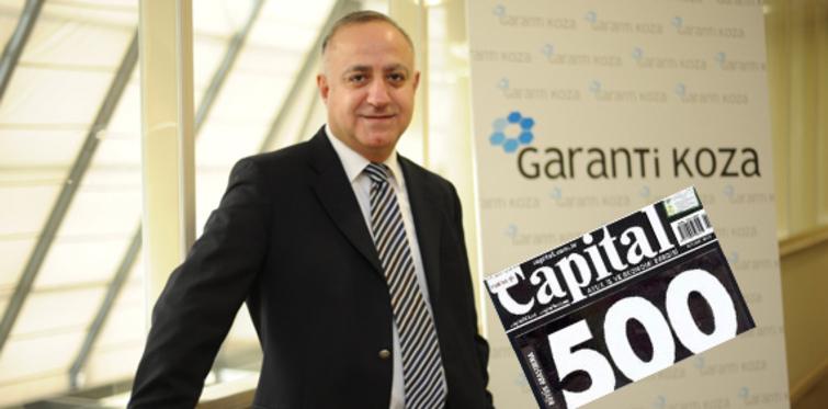 Garanti Koza, Capital 500'de
