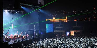 Arena'da bir gece 50 bin euro