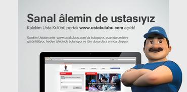 Kalekim Usta Kulübü Portalı açıldı