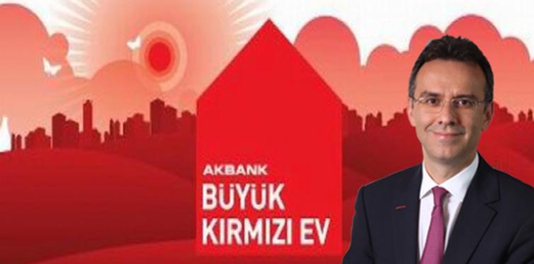Akbank Büyük Kırmızı Ev'le çifte bayram