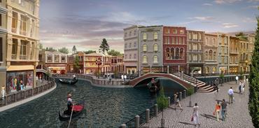 VIA/PORT Venezia'nın kuleleri Venedik'e yolluyor