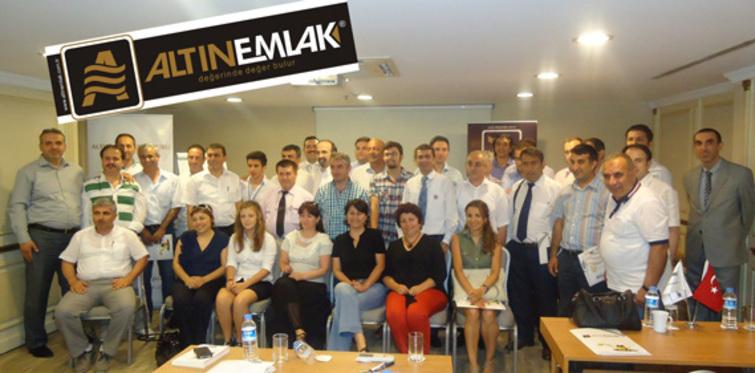 Altın Emlak temsilcileri İstanbul'da buluştu