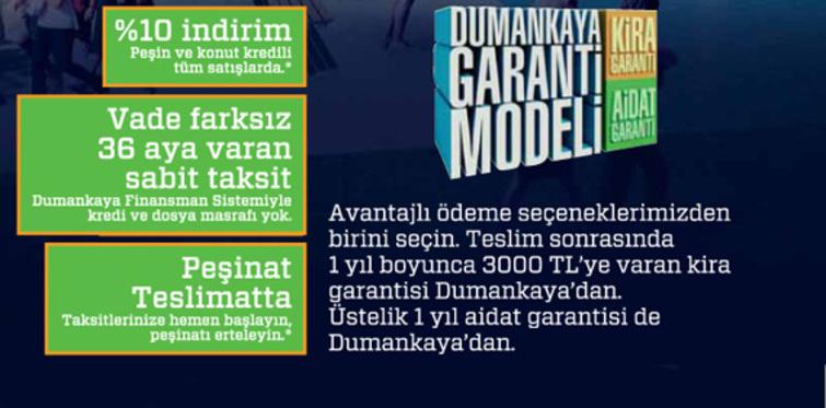 Dumankaya'dan 'Garanti Modeli' kampanyası