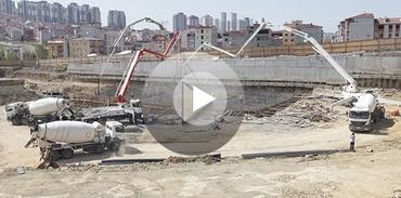 Samsun Towers'da kat inşası başladı