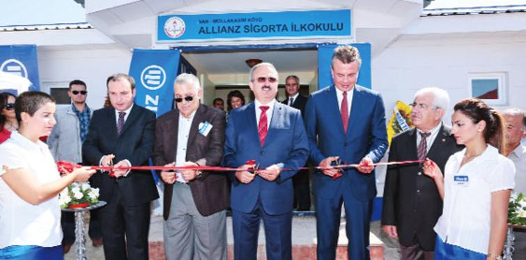 Allianz Sigorta, Van'da okul açtı
