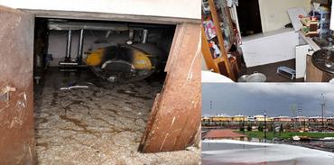 TOKİ Bitlis'te su baskını