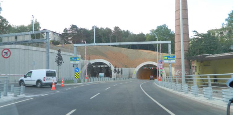 Sarıyer Tüneli, açılışı bekliyor