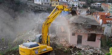 Kentsel Dönüşüm'de yıkım başlıyor
