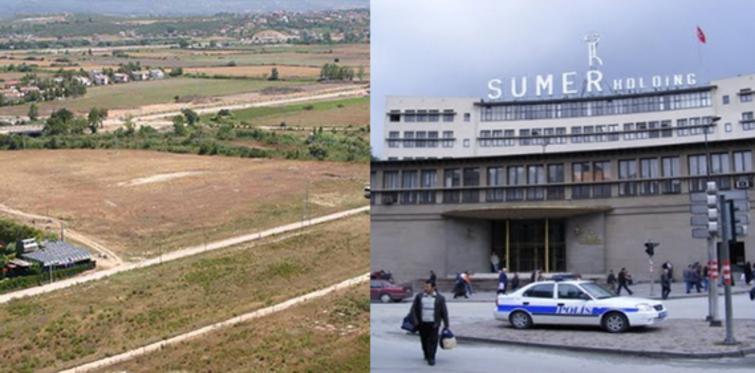 Sümer Holding arazileri ihale ediliyor