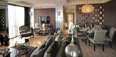 Ritim İstanbul'a 32.katta örnek daire