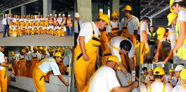 Ytong'tan duvar uygulama eğitimi