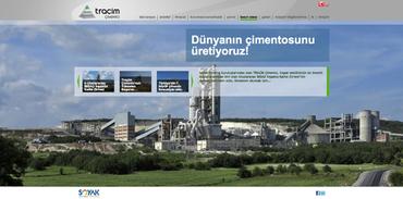 Traçim Çimento web sitesini yeniledi