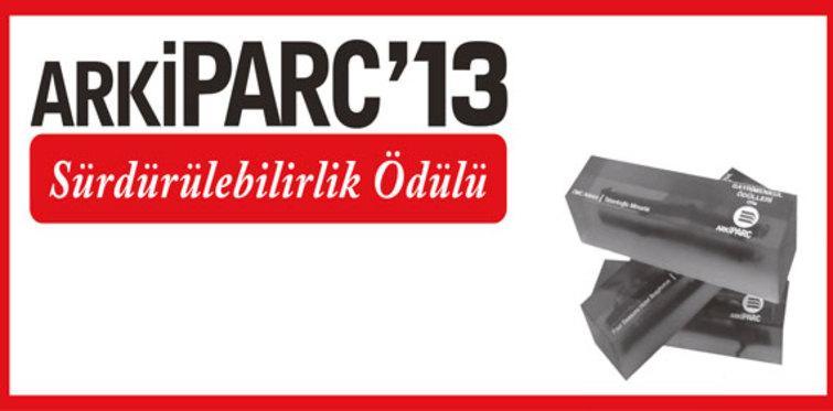 ArkiPARC 2013 Sürdürülebilirlik Ödülü